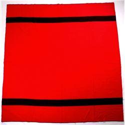 Amana Woolen Mill Red Wool Blanket