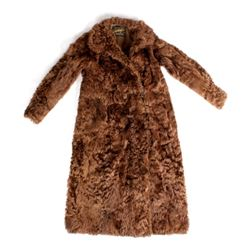 Antique Ladies Rabbit Fur Custom Coat