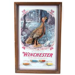 Winchester 3D Turkey Shotgun Advertising sign
