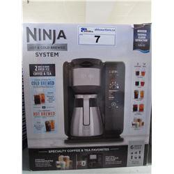 NINJA HOT & COLD BREWED COFFEE MACHINE