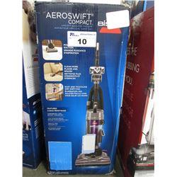 BISSELL AEROSWIFT COMPACT UPRIGHT BAGLESS VACUUM (BROKEN WHEEL)
