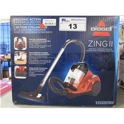 BISSELL ZING II BAGLESS CANISTER VACUUM