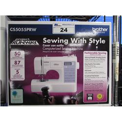 BROTHER CS5055PRW PROJECT RUNWAY EDITION SEWING MACHINE