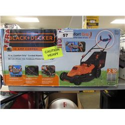 BLACK & DECKER 15 INCH 10 AMP CORDED ELECTRIC LAWNMOWER
