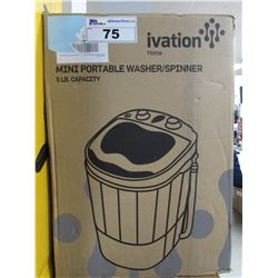 IVATION HOME MINI PORTABLE WASHER/SPINNER