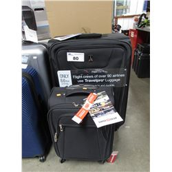 TRAVEL PRO MAX LITE 4 SUITCASE & SWISS GEAR CARRY ON SUITCASE