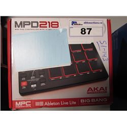AKAI PROFESSIONAL MPD218 CINEMATIC PERCUSSION PAD