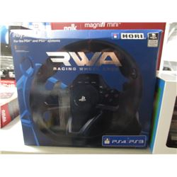 RWA RACING WHEEL APEX GAMING STEERING WHEEL - PLAYSTATION 4 OR 3