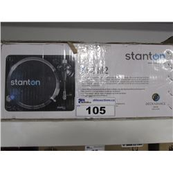 STANTON T.62 M2 DIRECT DRIVE TURNTABLE