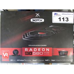 XFX RADEON RX 580 8GB GDDR5 GRAPHICS CARD