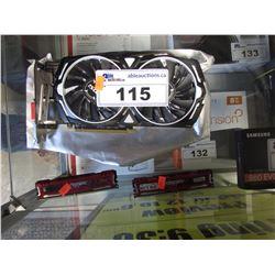 MSI RADEON RX 470 ARMOR 8GB OC GRAPHICS CARD & BALLISTIX RAM
