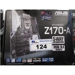 ASUS Z170-A LGA 1151 GAMING MOTHERBOARD