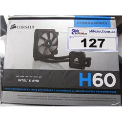 CORSAIR H60 LIQUID CPU COOLER