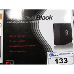 G-FORCE MEGADISK BLACK USB 3.0 EXTERNAL HARD DRIVE