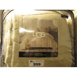 UGG CLIFTON FULL/QUEEN COMFORTER SET
