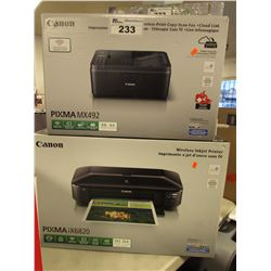 CANON PIXMA MX492 PRINTER & CANON PIXMA IX6820 PRINTER