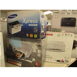 CANON PIXMA TS8120 PRINTER, CANON PIXMA MG3620 PRINTER & SAMSUNG PRINTER XPRESS