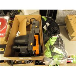 WORX ELECTRIC CHAINSAW & PAIR OF PEAKWORKS FULL BODY HARNESSES