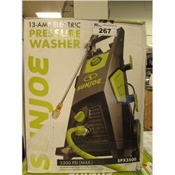 SUNJOE 2300 PSI ELECTRIC PRESSURE WASHER