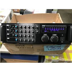 PYLE PMXAKB1000 1000 WATT RACK MOUNT BLUETOOTH KARAOKE MIXER