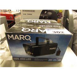 2 MARQ FOG 400 LED MACHINES & MATCH BAG/BAG JACK COMBO ADJUSTABLE SHOOTING PLATFORM