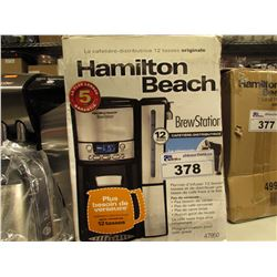 HAMILTON BEACH 12-CUP BREW STATION COFFEE MAKER