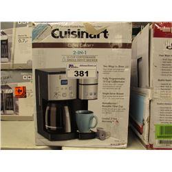 CUISINART 2-IN-1 COFFEE MAKER