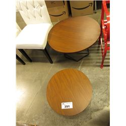 2 MATCHING SMALL TABLES