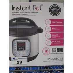 INSTANT POT IP-DUO80 V2 7-IN-1 PRESSURE COOKER