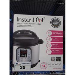 INSTANT POT IP-DUO60 V3 7-IN-1 PRESSURE COOKER