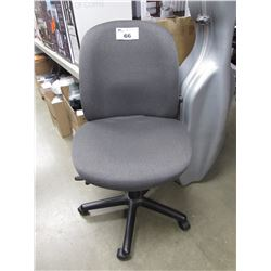 GREY MOBILE OFFICE CHAIR