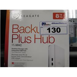 SEAGATE 8 TB BACKUP PLUS HUB FOR MAC