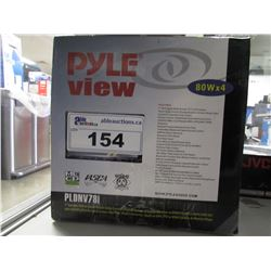 PYLE VIEW PLDNV78I 7 INCH DOUBLE DIN MEDIA DECK