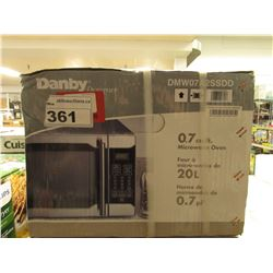 DANBY 0.7 CU FT STAINLESS MICROWAVE MODEL DMW07A2SSDD