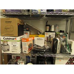 CUISINART RICE COOKER, DYMO LABELWRITER 4XL, ELECTRIC KETTLE, ELECTRIC SINGLE BURNER, STAINLESS