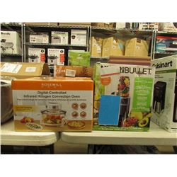 NUTRIBULLET & ROSEWELL DIGITAL-CONTROLLED INFRARED HALOGEN CONVECTION OVEN