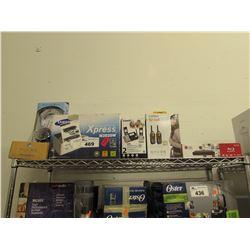 LG BLURAY PLAYER, UNIDEN SCOUT WALKIE TALKIES, VTECH PHONE SYSTEM, SAMSUNG PRINTER XPRESS M2020W,