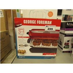 GEORGE FOREMAN 3-IN-1 GRILL PANINI SLIDERS