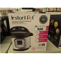 INSTANT POT 7-IN-1 MULTI USE PROGRAMMABLE 6 QUART PRESSURE COOKER