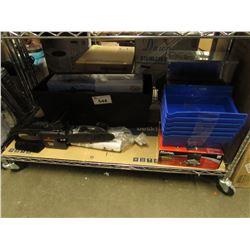 REMINGTON RANGER, EXTREME BOAT MIRROR, CASH BOX, BLUE BINS, TIRE LOFT, ETC