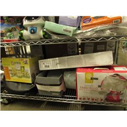 SHELF LOT OF ASSORTED BABY PRODUCTS