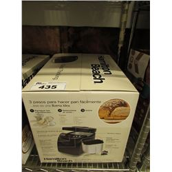 HAMILTON BEACH HOME BAKER BREAD MAKER