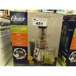 OSTER JUSSIMPLE JUICER