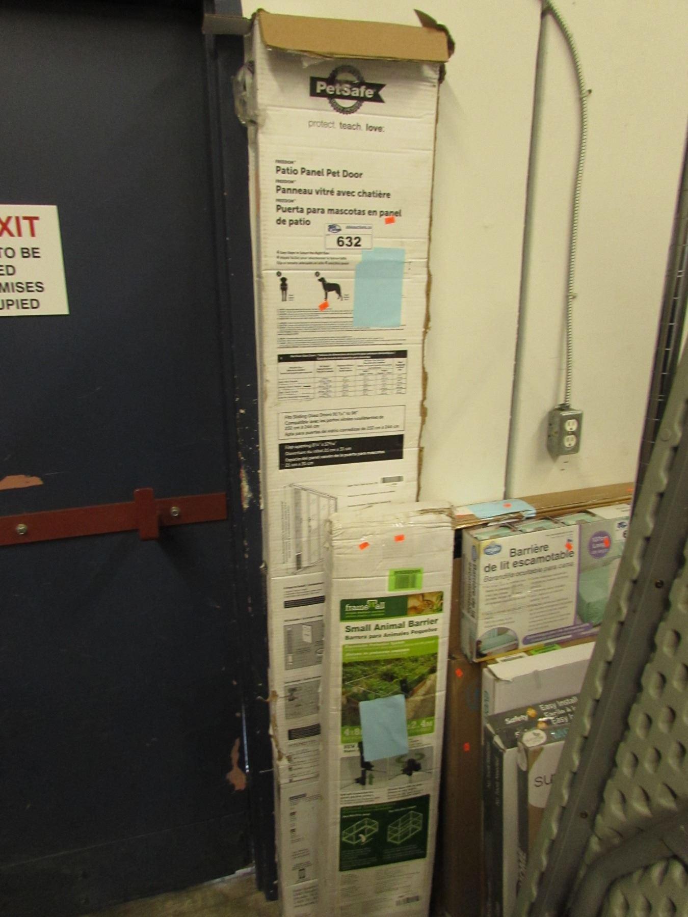 Image 1  PETSAFE PATIO PANEL PET DOOR u0026 SMALL ANIMAL BARRIER & PETSAFE PATIO PANEL PET DOOR u0026 SMALL ANIMAL BARRIER