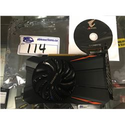 GIGABYTE 1050 2GB GPU VIDEO CARD