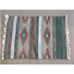 """Navajo Blanket- Fringed- 36""""L X 23.5""""W"""