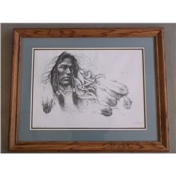 Signed Ozz Franca Print- A/P- Letter of Authenticity