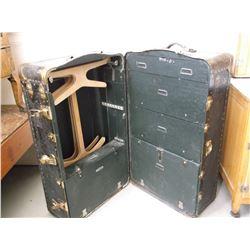 "Antiques Salesman Trunk- 5 Drawer- 41""L X 22"" X 22""D- Trunk #CD482"