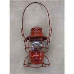 Marked The Adams & Westlake Co. Railroad Lantern- Globe Marked Dietz No 999 New York USA NP