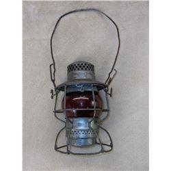 Marked The Adams & Westlake Co. Railroad Lantern- Marked UPRR